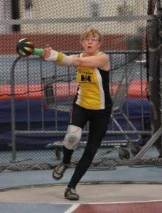 11 Rhona indoor weight throw - 2013 new